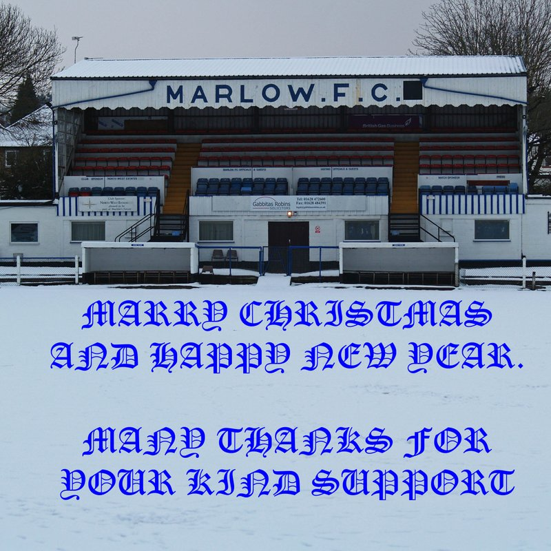 MERRY CHRISTMAS FROM ALL AT MARLOW FC