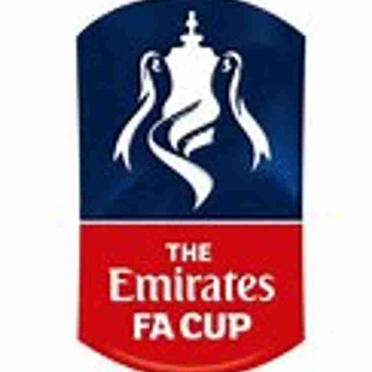 Marlow get their hands on the F.A Emirates Cup - YOU could too!