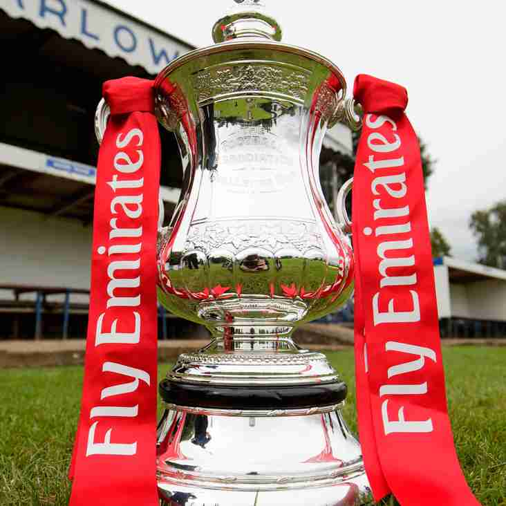 FA Cup draw brings home tie.