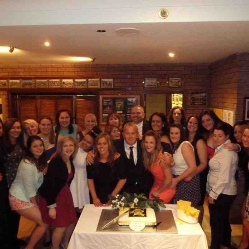 Ladies Annual Players Dinner 2014