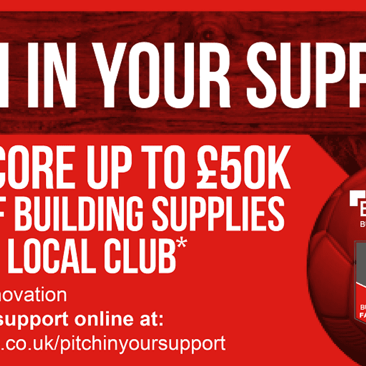 Buildbase - Pitch in your support