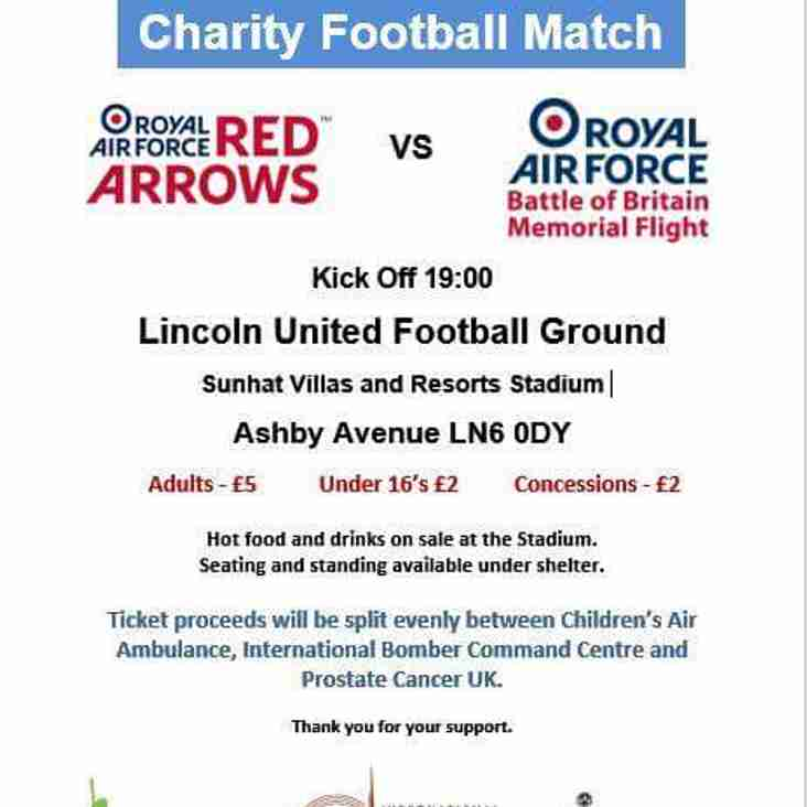 POSTPONED | OFF | CANCELLED Charity Football Match