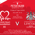 British Heart Foundation Charity Friendly