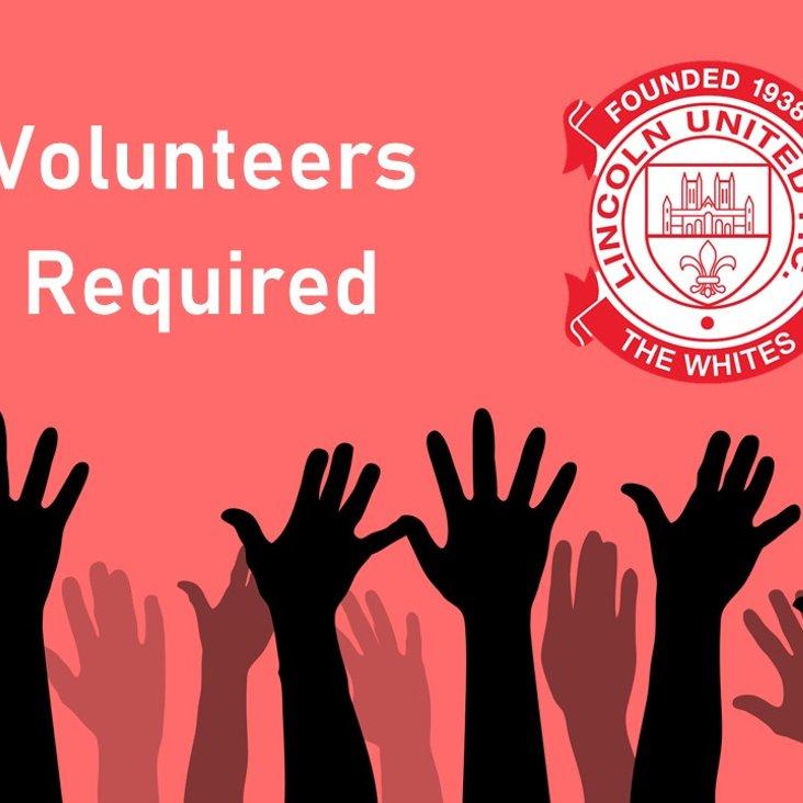 Volunteers Required<