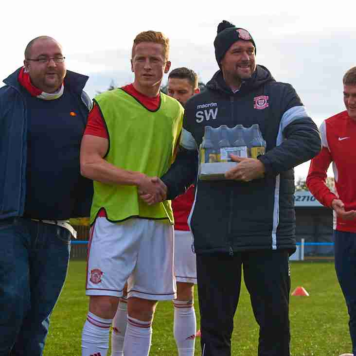 BOWLANDS BREWERY OCTOBER PLAYER OF THE MONTH