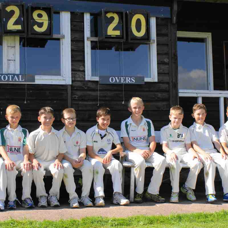 UNDER 11 9 ASIDE KNOCK OUT WIN VS OMBERSLEY 7/9/14