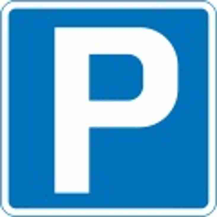 Parking advice for visitors