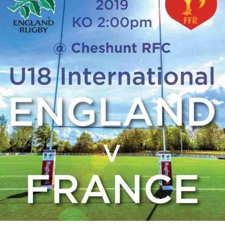 England Vs France U18