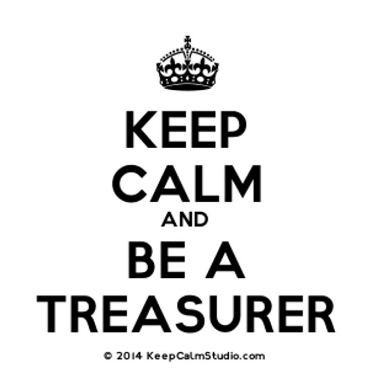 Treasurer Needed<