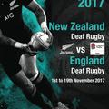 England Deaf Rugby to host Deaf All Blacks in November 2017