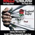 vs Wales Deaf 28.01.17 Pontypridd RFC
