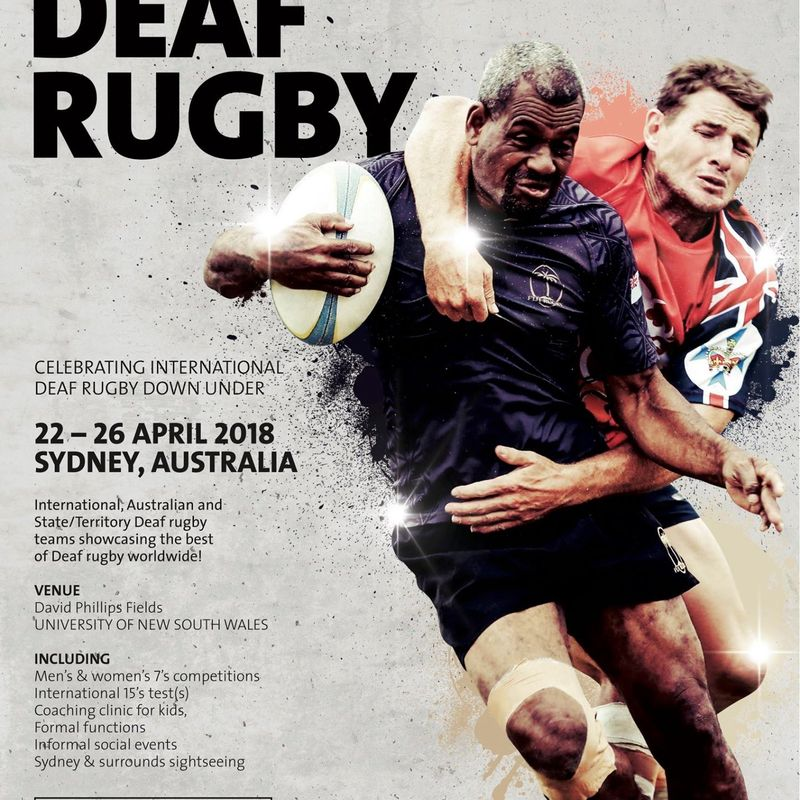 England Deaf Rugby Union confirm attendance at the 2018 World Deaf Rugby 7's in Sydney, Australia