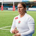 National Team Manager keeps her focus