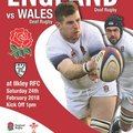 England Deaf Rugby Union vs. Wales Deaf Rugby