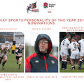 England Deaf Rugby look towards the Deaf Sports Personality 2018 Awards