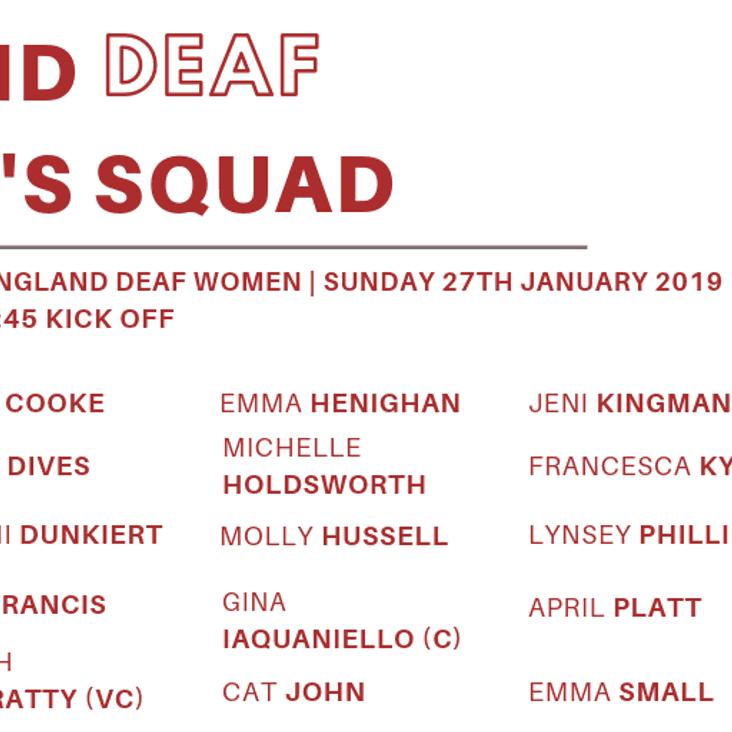 EDRU Women's Name Squad for Welsh Fixture