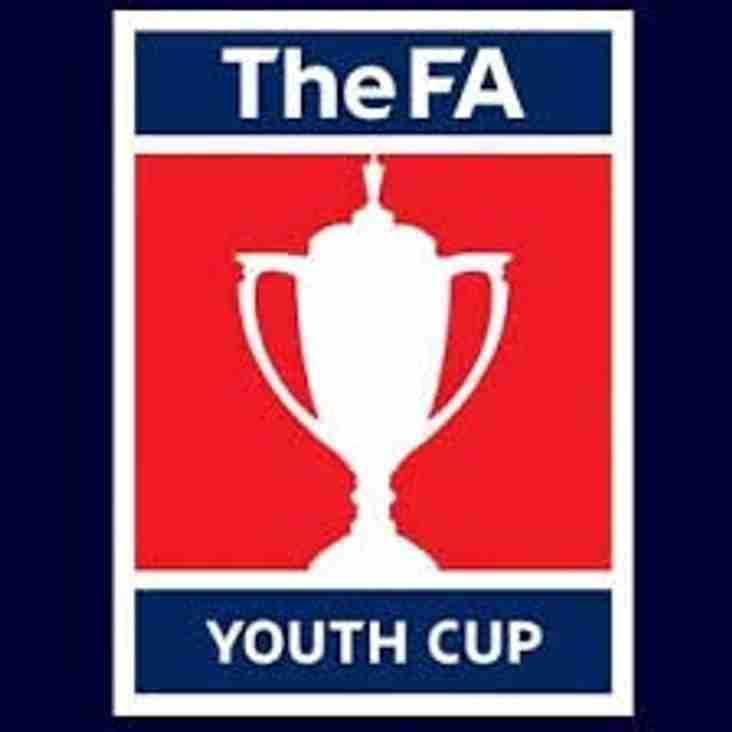 Under 18's In Youth Cup Action