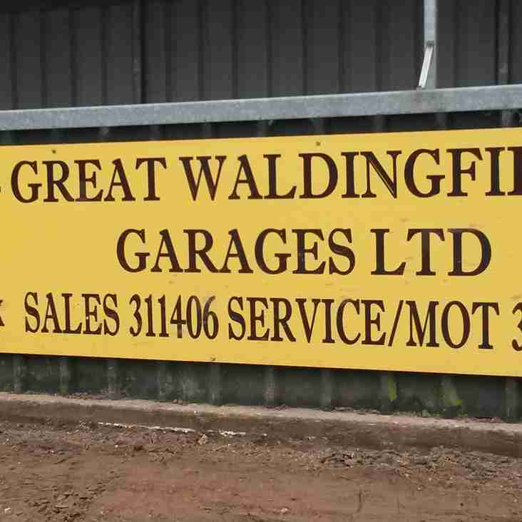 Tuesday - Gt Waldingfield Garages Are The Sponsors