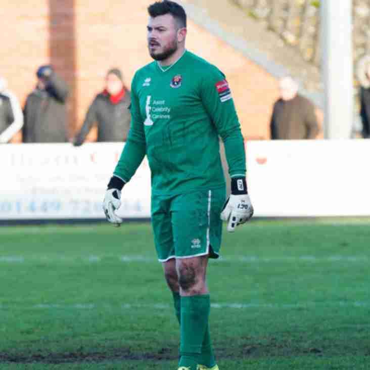 Keeper Garnham Has Left