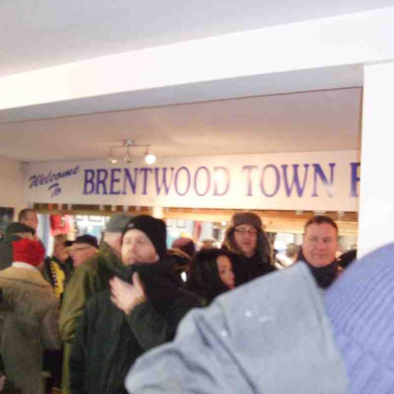 Brentwood Away 31/01/2015