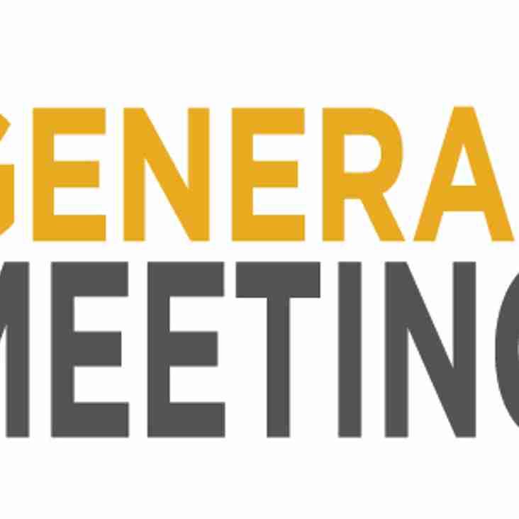 AFC Sudbury Limited General Meeting