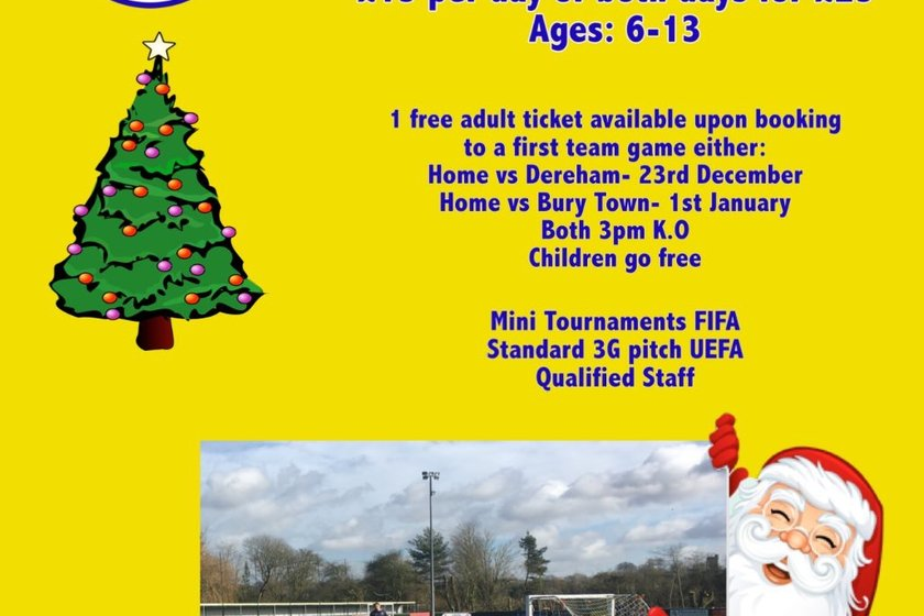 AFC Christmas Soccer Camps