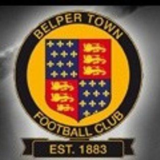 CARLTON TOWN 1-3 BELPER TOWN - MATCH REPORT