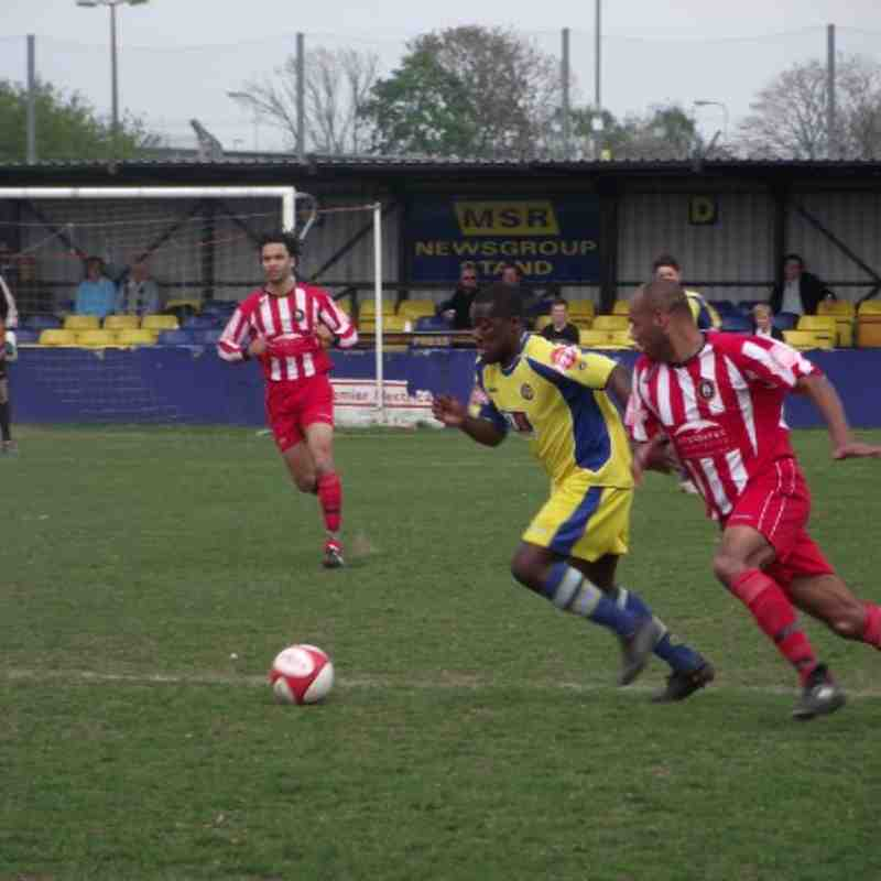 Rushall Olympic home 16.04.11