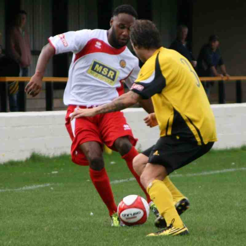 Hucknall Town away 10.09.11 Tim Harris