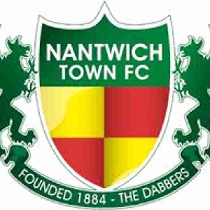 POSH MILLER AT THE FA CUP - NANTWICH TOWN 3-3 BLYTH SPARTANS