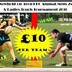 Newbold Men's 7s and Ladies Touch Tournament