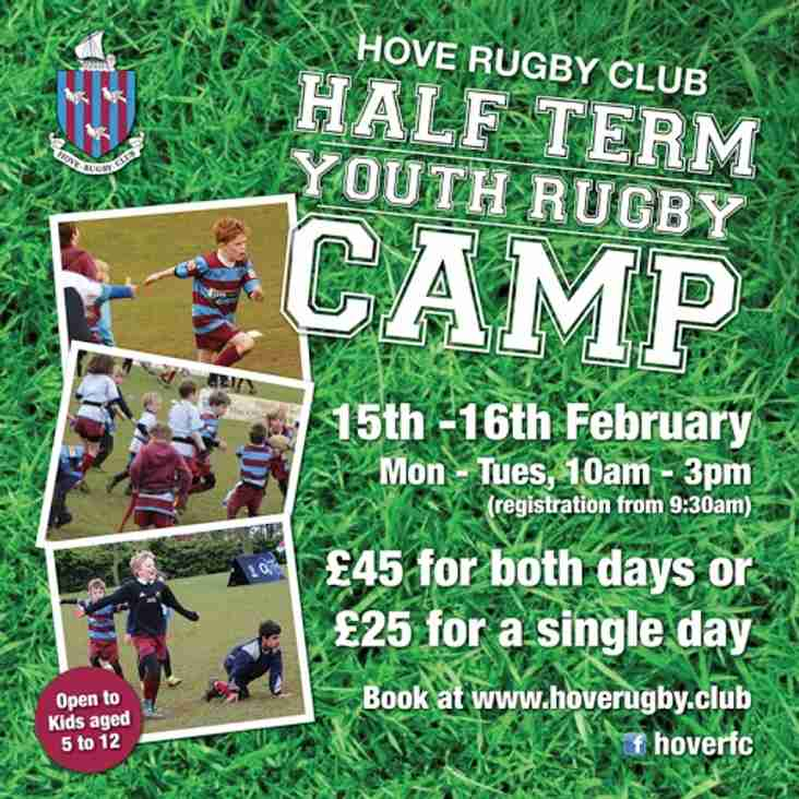 Half-Term Youth Rugby Camp