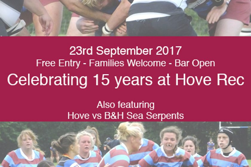 Celebrating 15 years at Hove Rec - Hove vs Dover & Hove vs Cheltenham previews