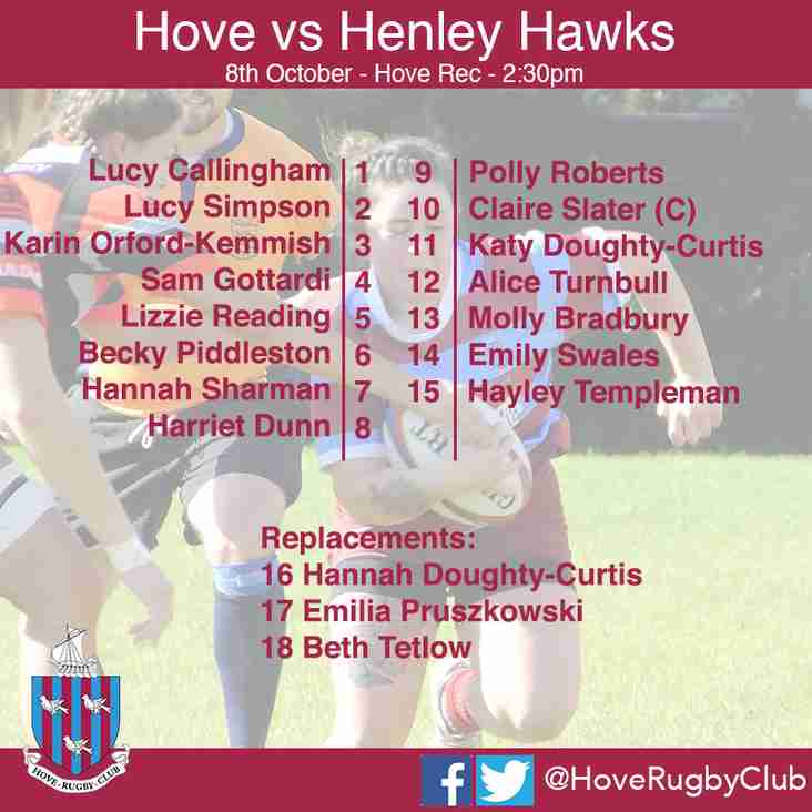 Hove look to return to winning ways against Henley