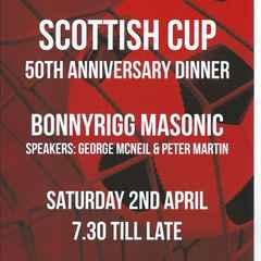 Scottish Cup 50th Anniversary Dinner