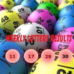 Weekly Lottery Results 31/01/16