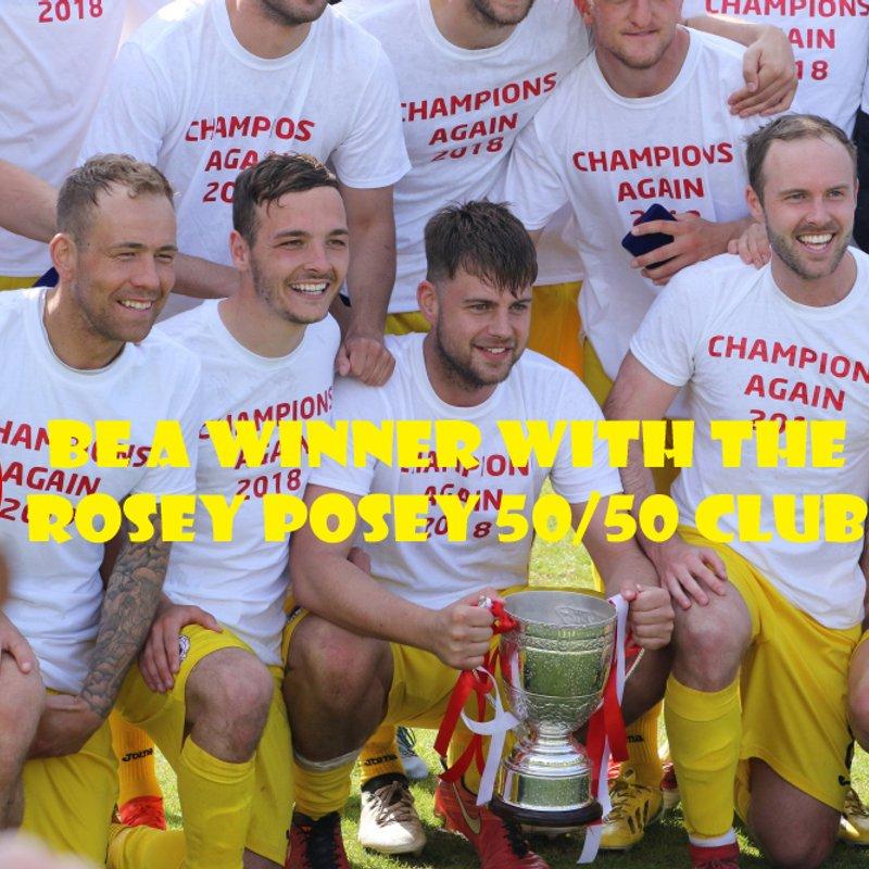 Rosey Posey 50/50 club winner - December