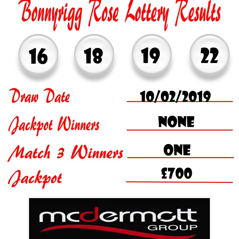 Weekly Lottery Results 10/02/19