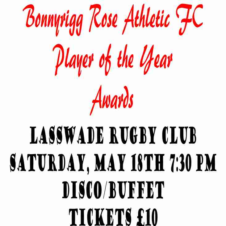 Player of the year awards