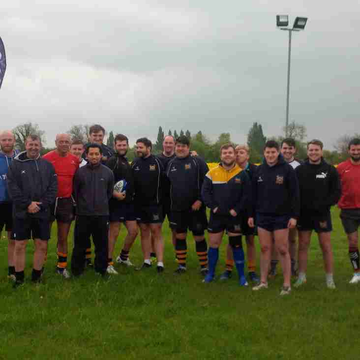 Goole O2 touch rugby