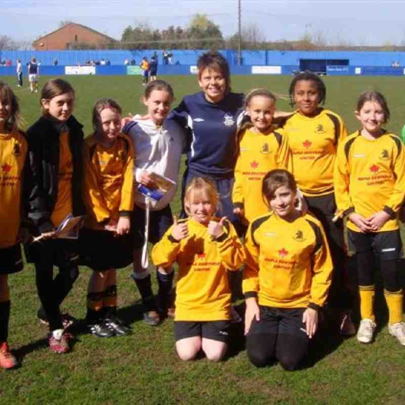 11th Apr - Under 11 Girls trip to Leeds v Chelsea Ladies