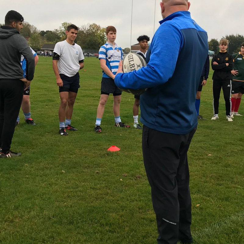 Wolves Academy gets busy in the rain
