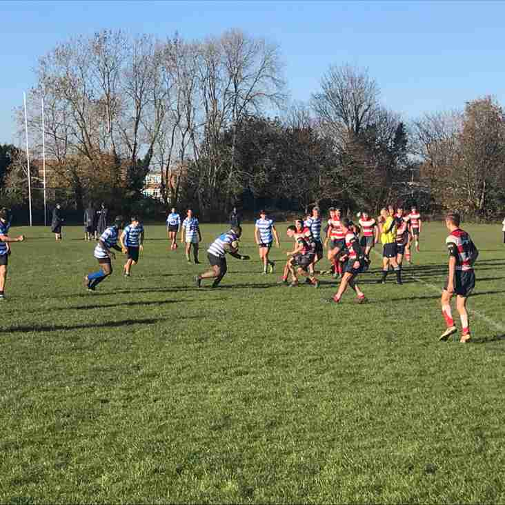 Surrey Cup - 3rd Round Home Win for the Warly Wolves