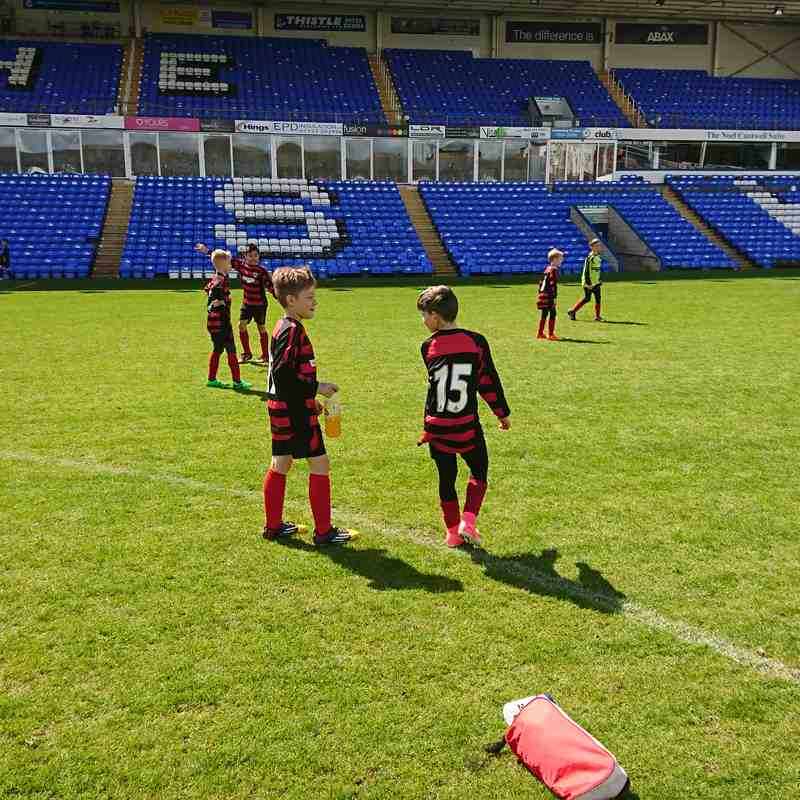 U10 Blues at POSH