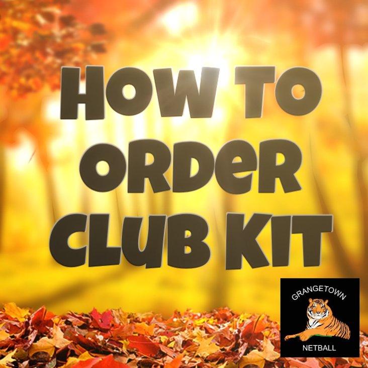 New Club Kit<