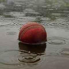 Partick suffer washout after batting first