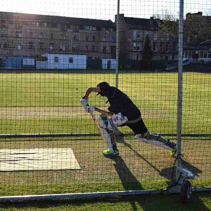 West of Scotland Summer Cricket Training Starts April 3rd