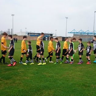 Grantham Town U13's first home victory