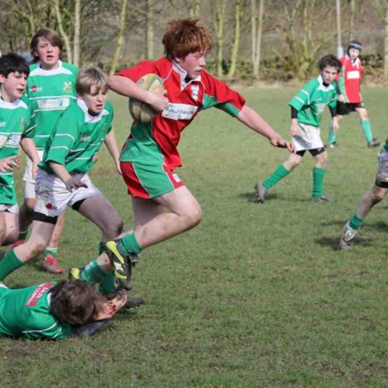 Under 13's Vs Wharfedale 11 March 2012