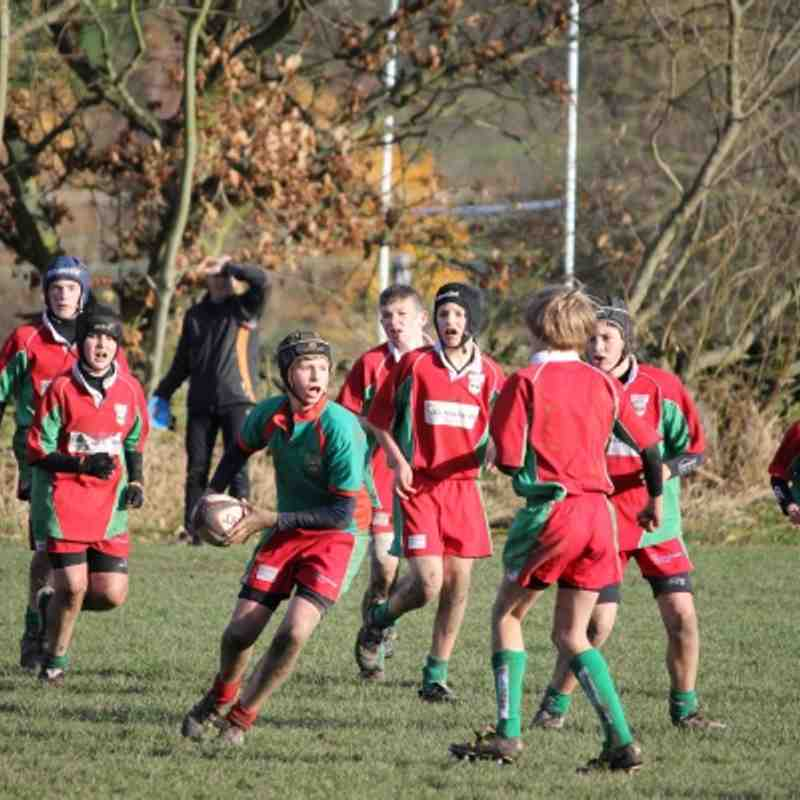 U14's Vs Skipton 8 Nov 2012